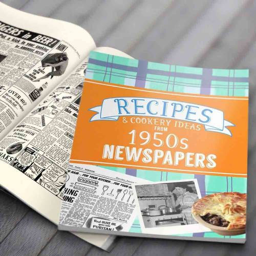 Personalised Recipes from 1950s Newspapers